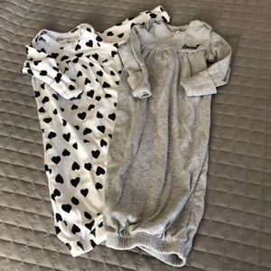 🍼👶🏻 LOT of 2 Sweet Baby Gowns